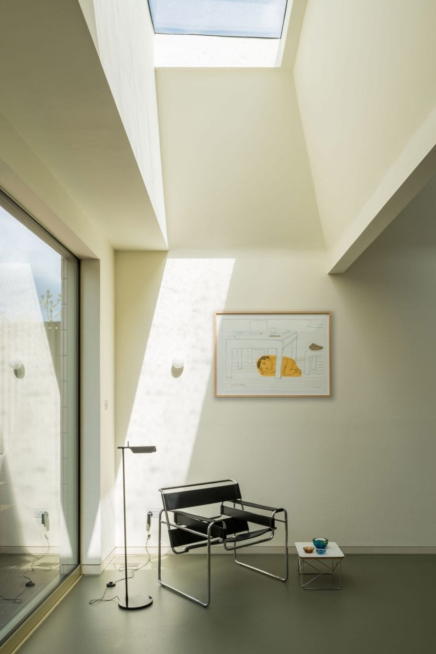 Skylights, Mount View house renovation by Archmongers