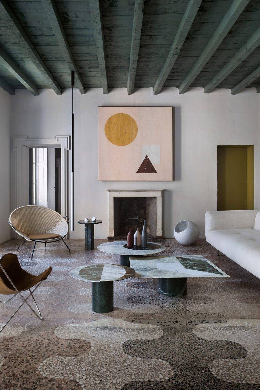 Ornate interior in Italy