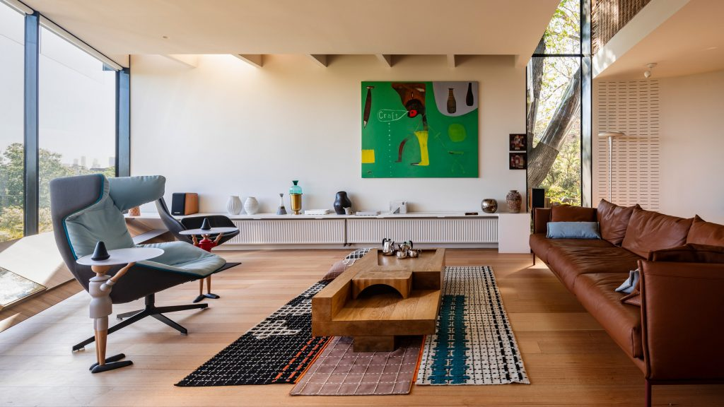 Ten homes with interiors designed to showcase art