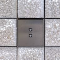 """Salt panels made using """"only sun and wind"""" used to clad interior of Frank Gehry's Arles tower"""