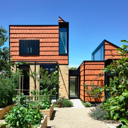 The home has two volumes which are adjoined