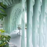 Beyond Space drapes one kilometre of fabric across Amsterdam office