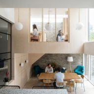 Selencky Parsons reconfigures London house to create affordable co-living for music students