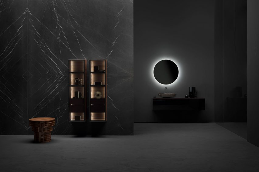Butler cabinet by Andrea Federici for Falper