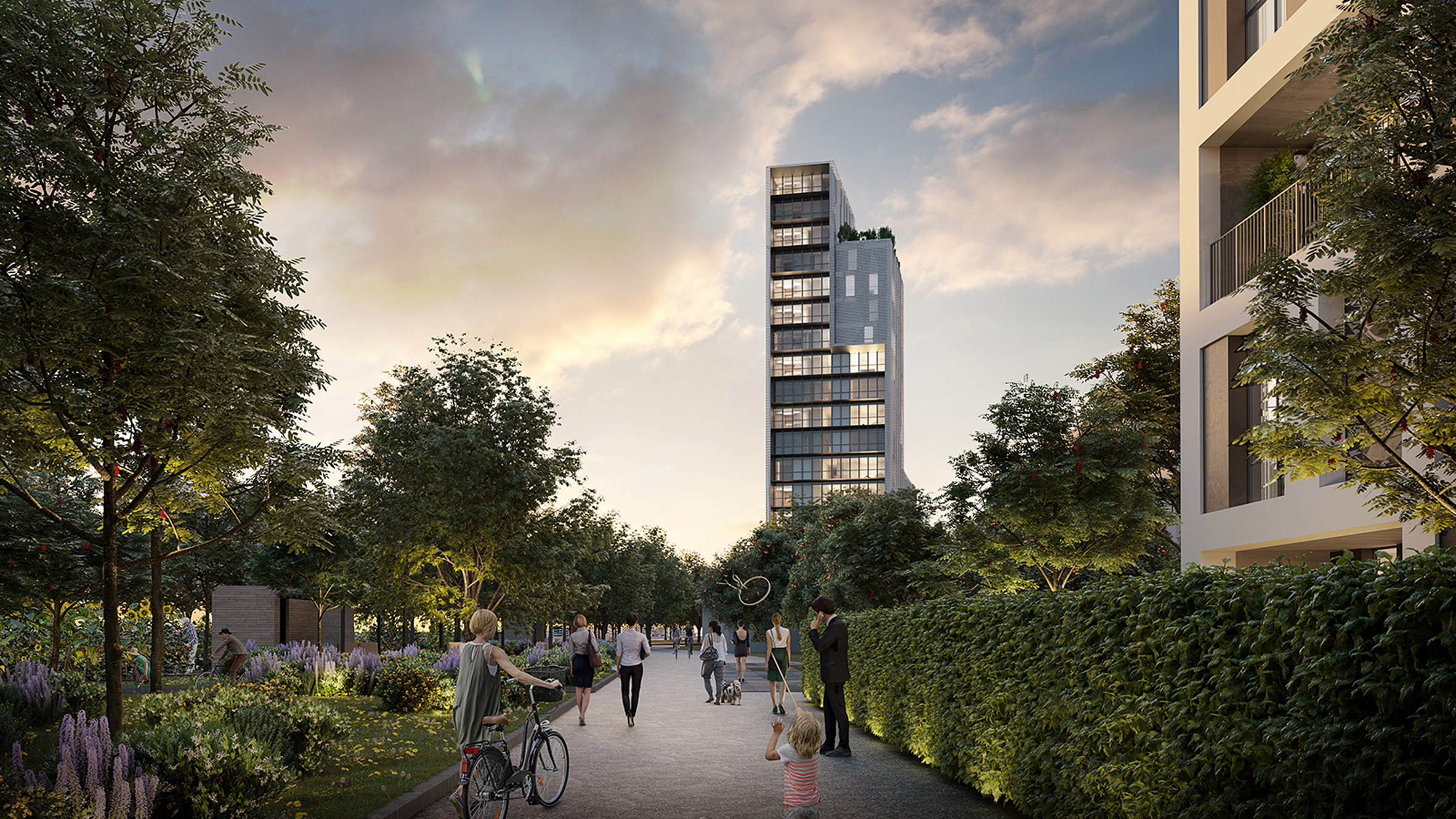 reinventing cities competition includes high rise building