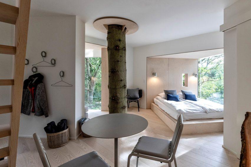 open bedroom by sigurd larsen