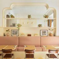 ASKA draws on Wes Anderson films for pastel-coloured Cafe Banacado design