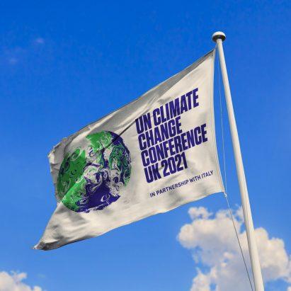 COP 26 2021 flag