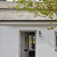 The entrance to Cornish Cottage