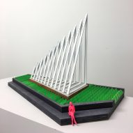 A 3D model of the installation