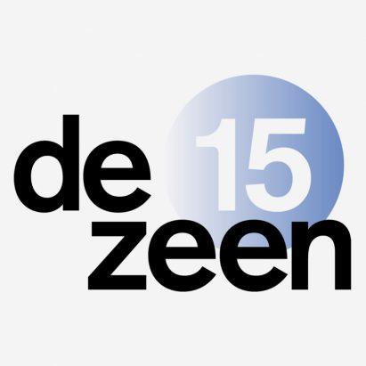 Dezeen 15 logo