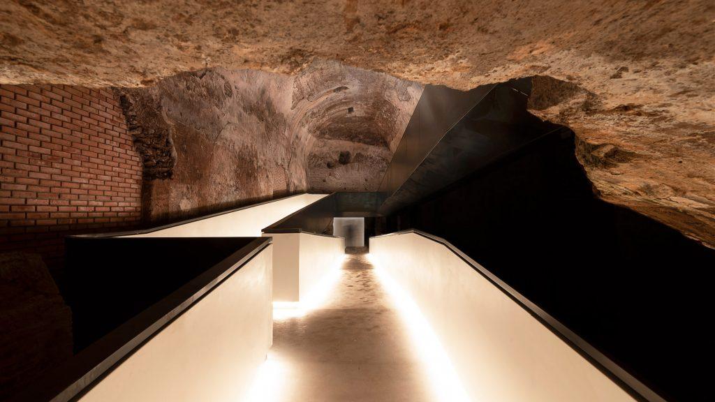 Stefano Boeri completes entrance and walkway at Rome's Domus Aurea
