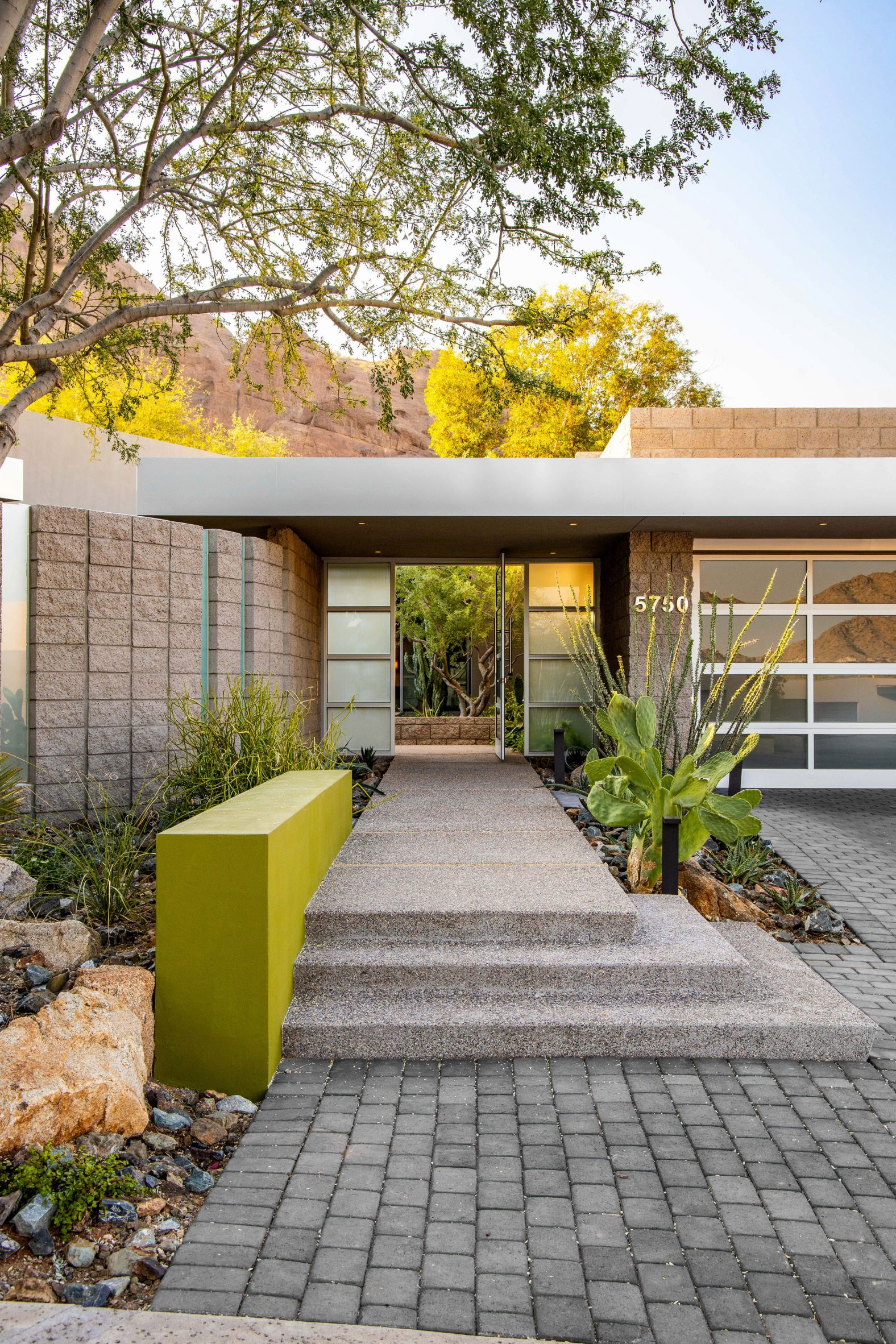 The house by Kendle Design Collaborative is in Arizona
