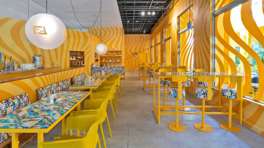 The Fendi Caffe by Sarah Coleman
