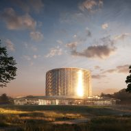 An experimental nuclear fusion power plant features in today's Dezeen Weekly newsletter
