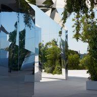 Doug Aitken creates kaleidoscopic catwalk for Saint Laurent show in Venice