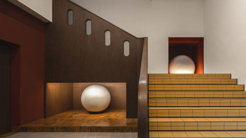 Buda Hotel interior by Archetype