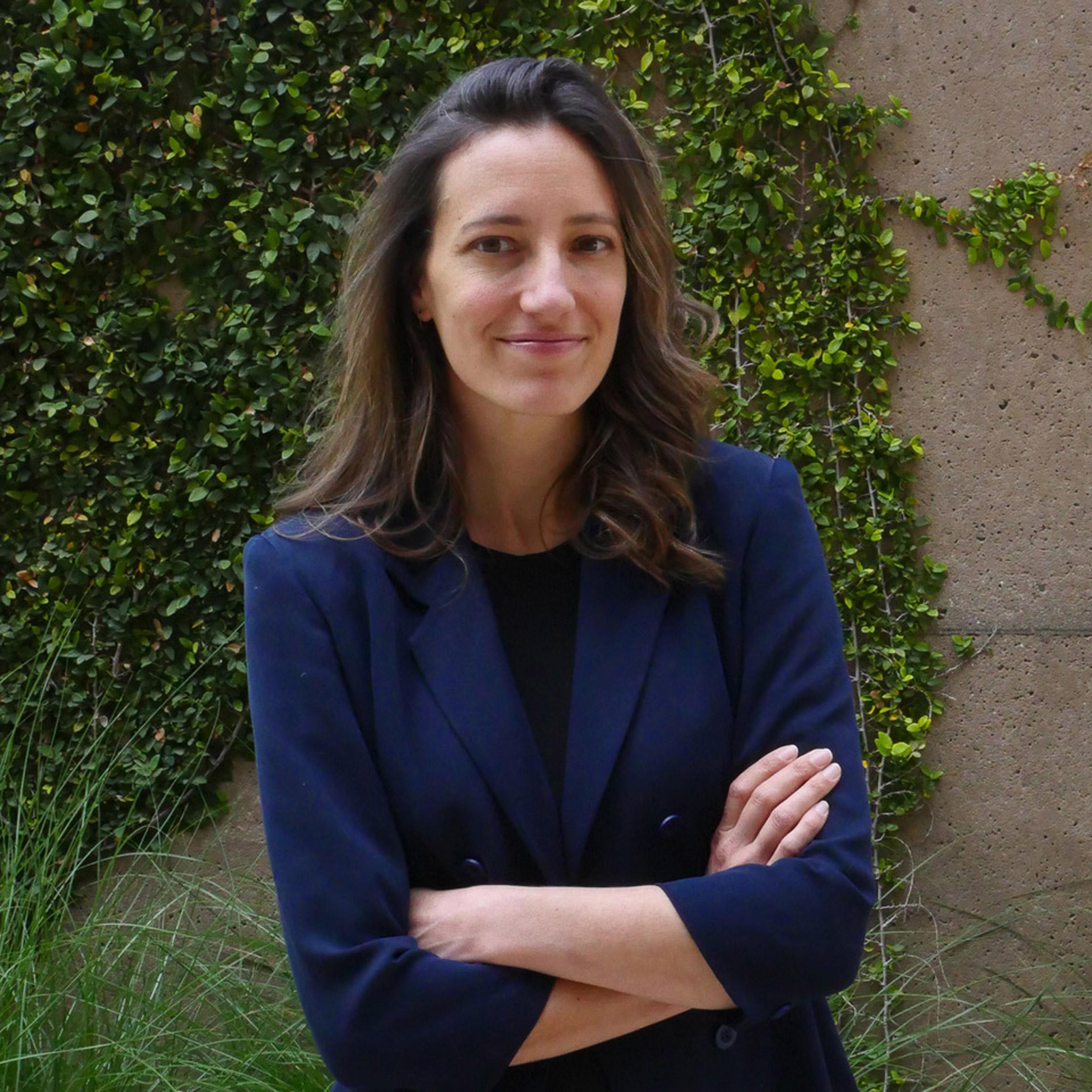 Portrait of environmental social scientist Holly Jean Buck