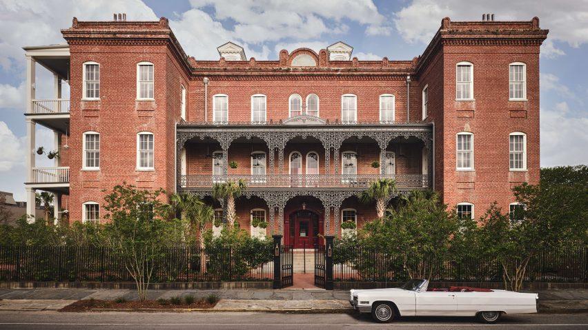 Hotel Saint Vincent exterior