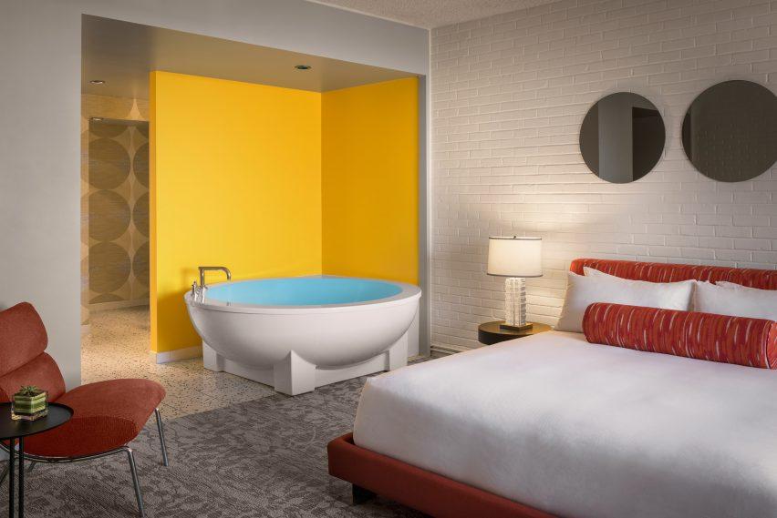 Hotel interiors in Scottsdale, Arizona
