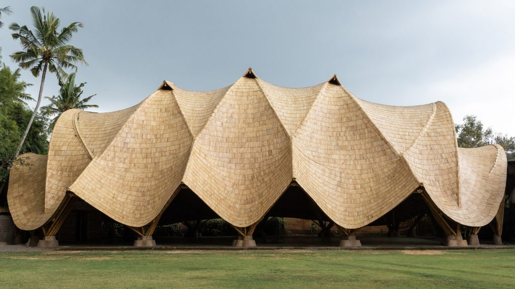 """Ibuku completes """"unprecedented"""" bamboo building in the Balinese jungle"""