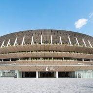 Kengo Kuma's Japan National Stadium is the centrepiece of the Tokyo 2020 Olympics