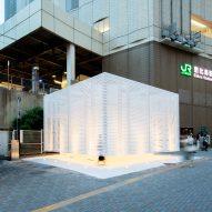 Tokyo Toilet at Ebisu station by Kashiwa Sato