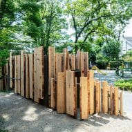 Nabeshima Shoto Park toilet by Kengo Kuma