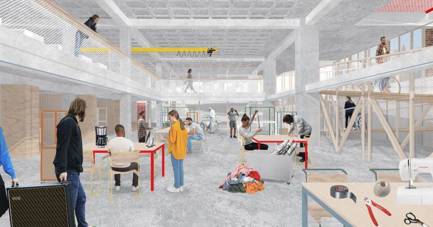 Multihall by Clara Janka at Kingston University