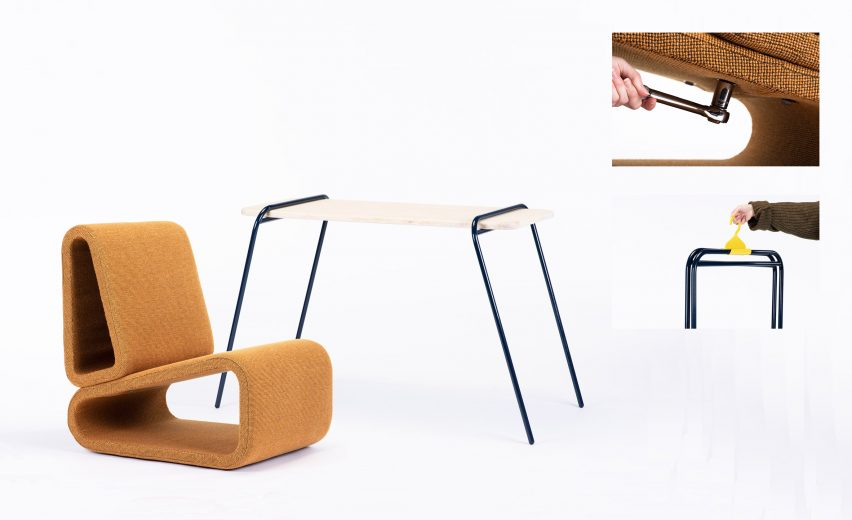 Product and furniture design by Charlotte McGowan
