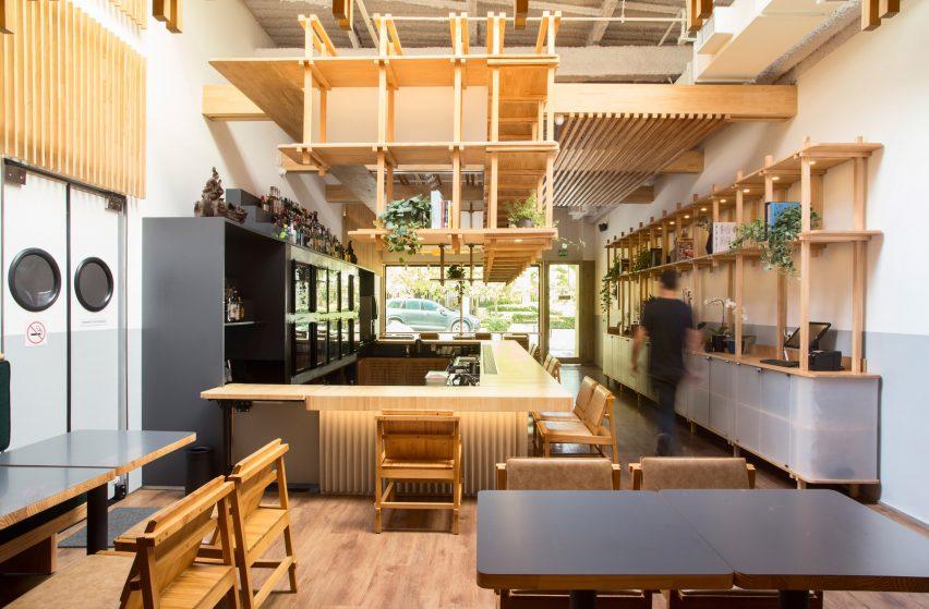 Japanese restaurant Kotori São Paulo interior