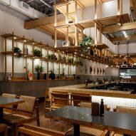 Coletivo de Arquitetos takes cues from Japan for São Paulo restaurant Kotori