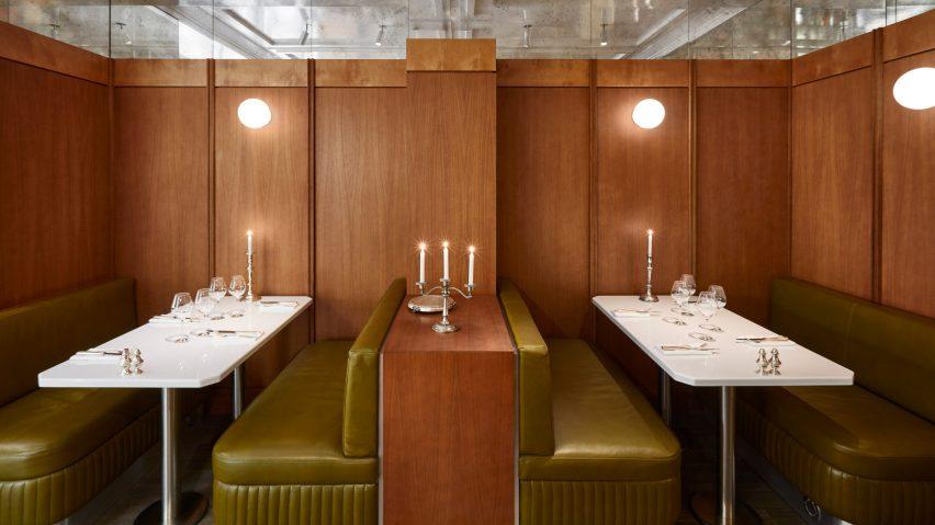 Abstinence restaurant interior by Lizée-Hugot