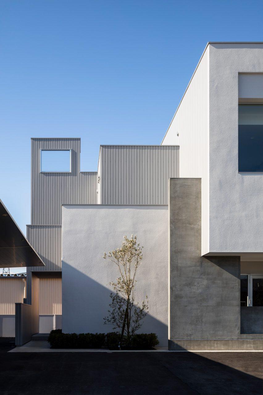 A geometric Japanese house