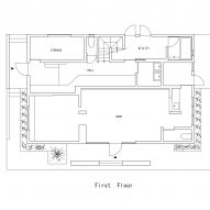 Floor plan of Landscape House by FORM/Kouichi Kimura Architects