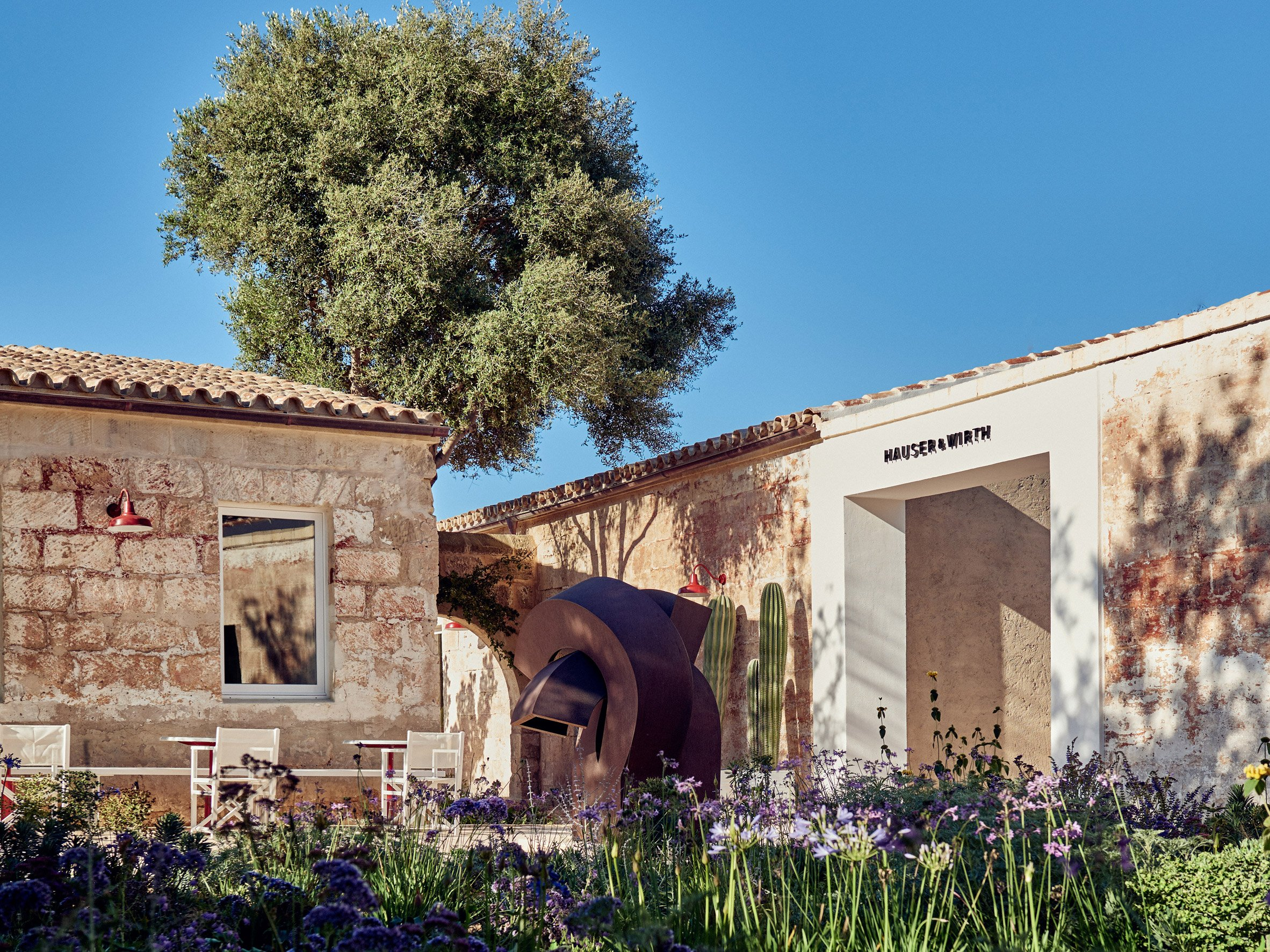 Hauser & Wirth Menorca was built on a small island