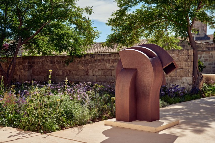 There is a sculpture trail at Hauser & Wirth Menorca