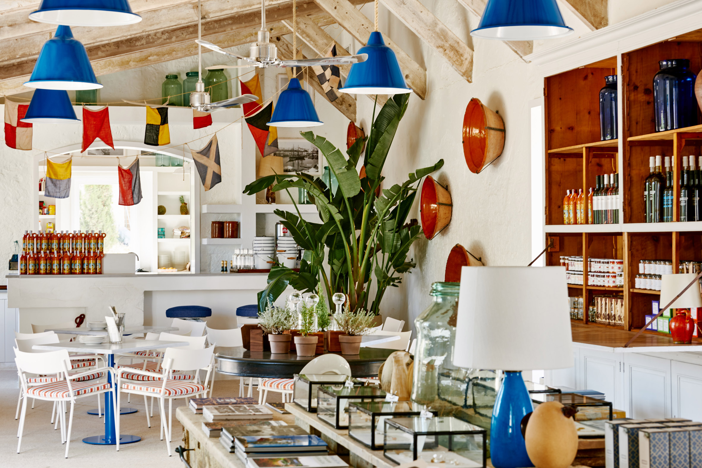 Hauser & Wirth Menorca has a colourful shop and canteen