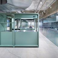 LIM and Loji hair salons by Schemata Architects