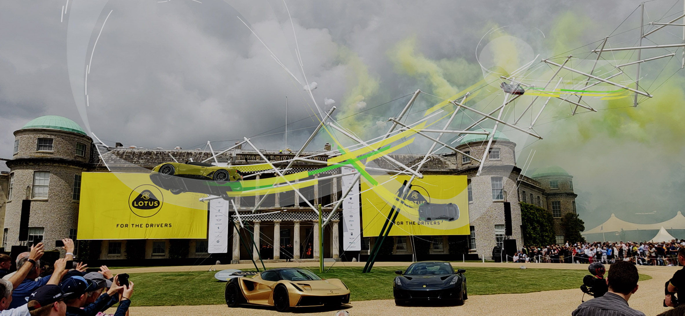lotus aeroad structure at goodwood