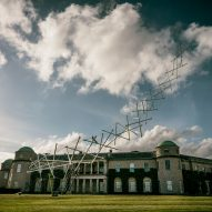 Unit9 creates Lotus Aeroad tensegrity structure at Goodwood Festival of Speed