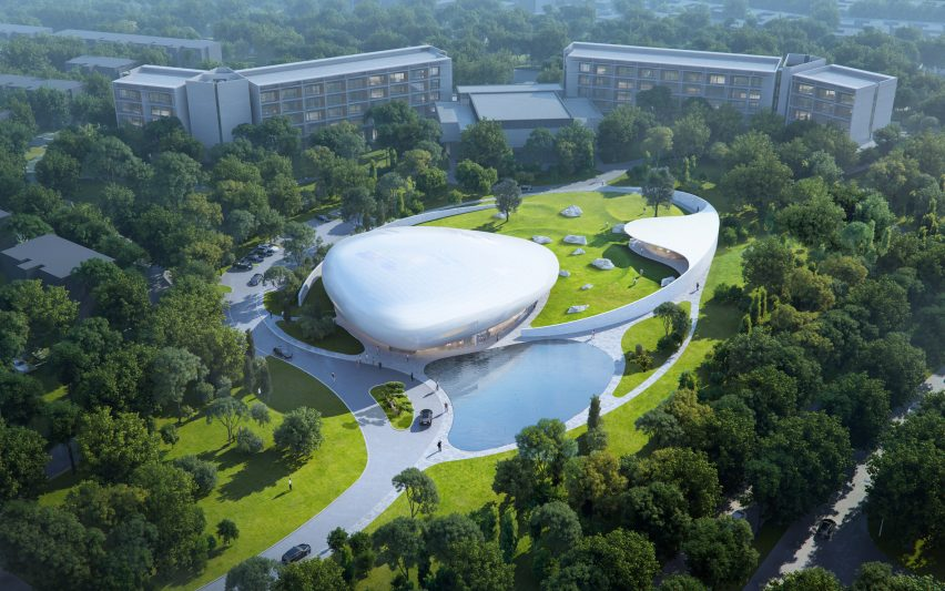 The Cloud Center in China