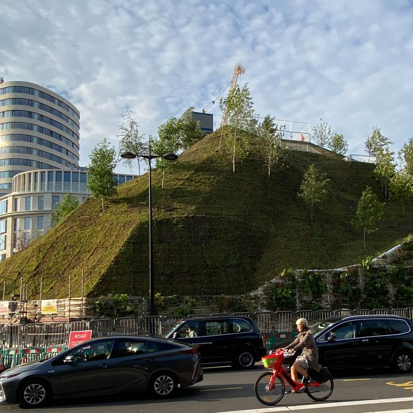 Fake hill near Oxford Street