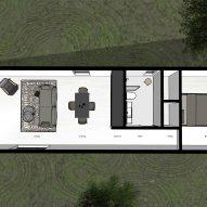 A floor plan of Canton House