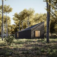 Marc Thorpe designs off-grid cabin retreat in the Romanian mountains