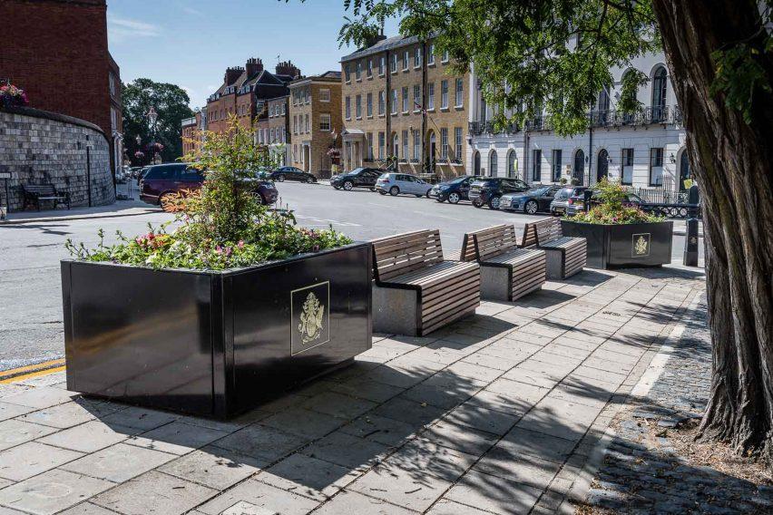 Protective street furniture