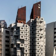 Nakagin Capsule Tower to be dismantled and turned into rental accommodation and exhibits