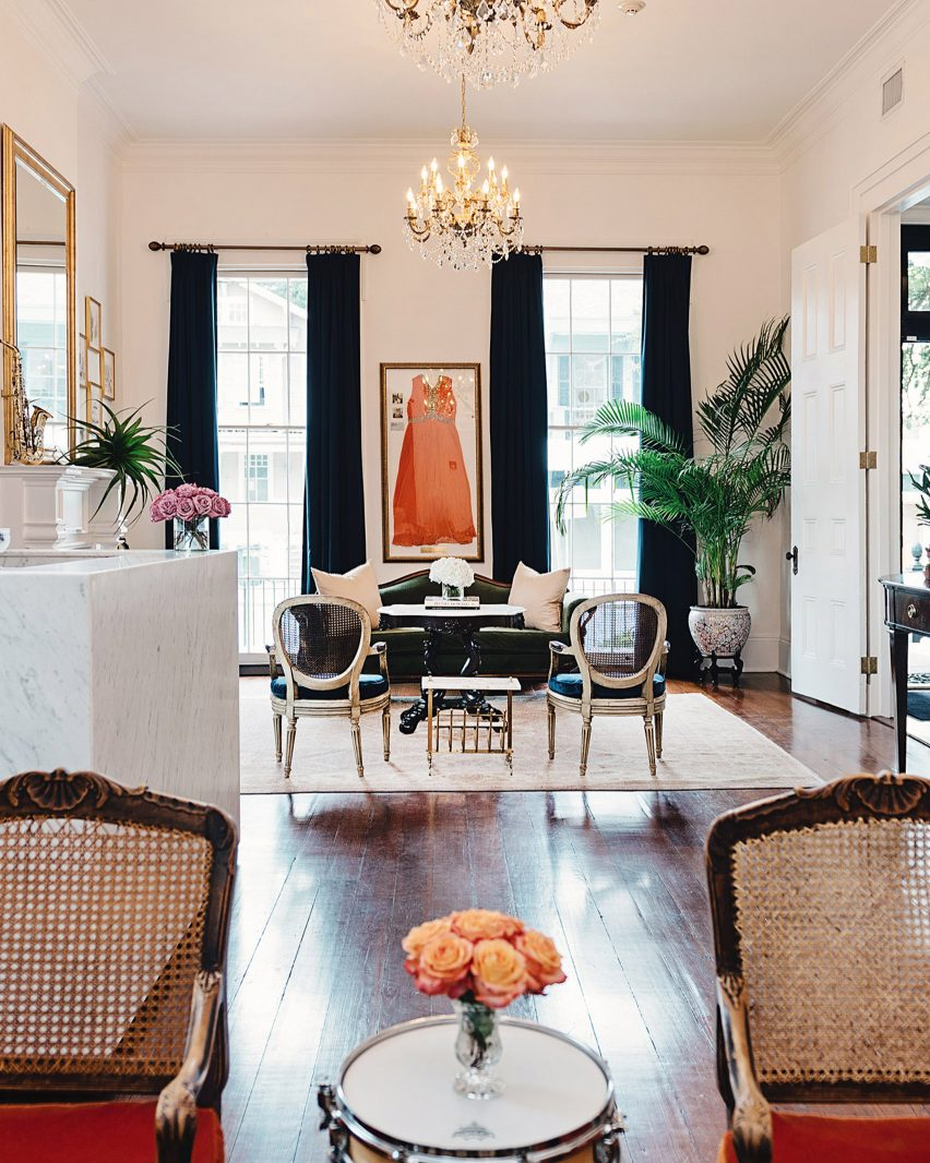 Henry Howard Hotel in the Garden District, New Orleans, by Hunter Mabry Design