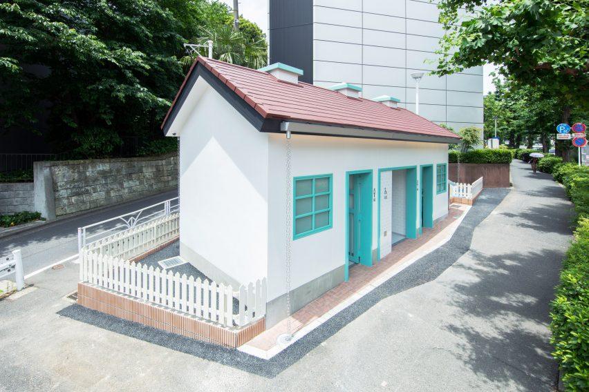 Toilet in Tokyo by Nigo