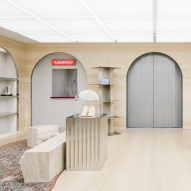 "AMO designs Off-White flagship store as an ""abstract reinterpretation of Paris"""